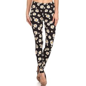 Fashion Daisy Printed leggings